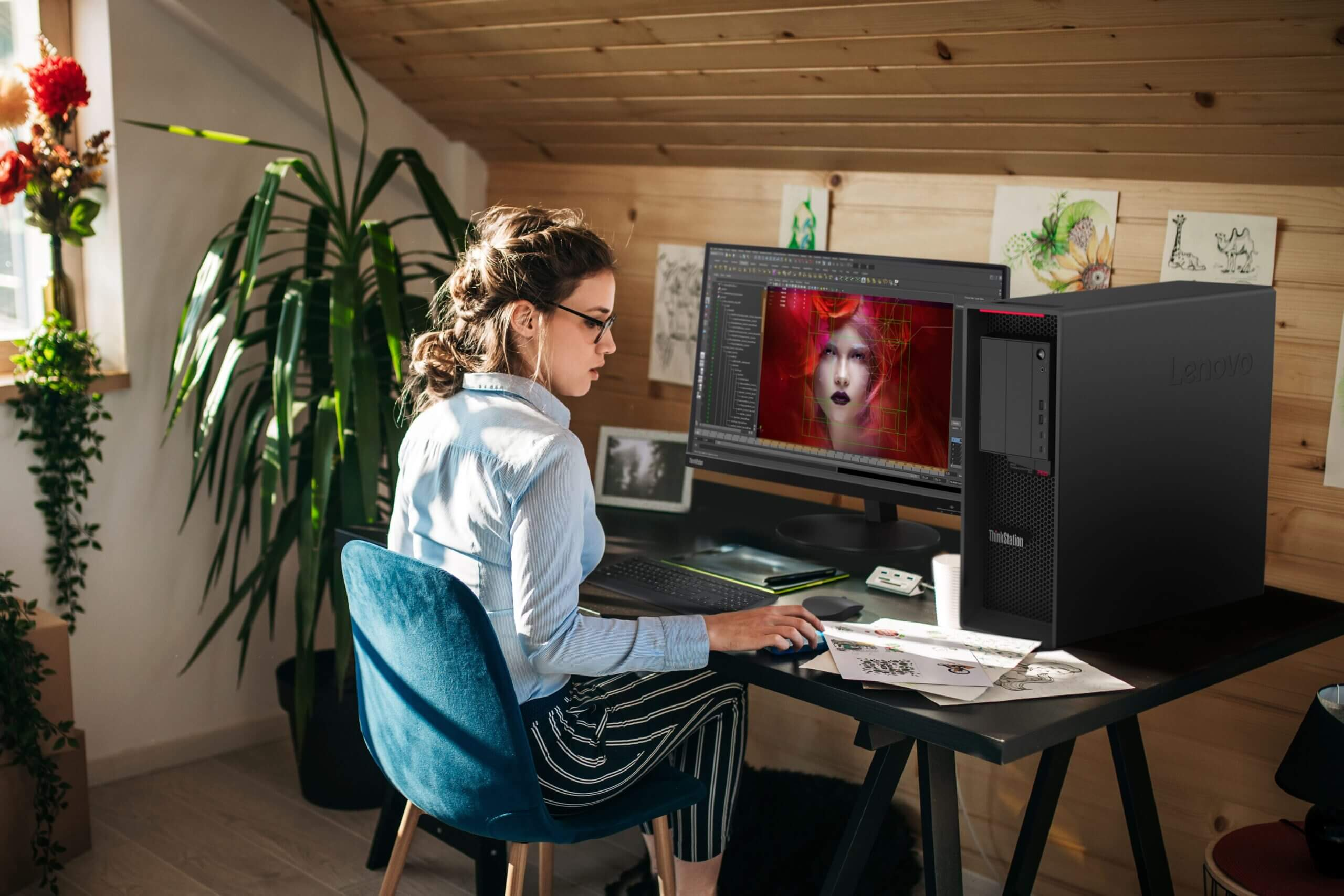 ThinkStation P620 Lifestyle Photo ME scaled