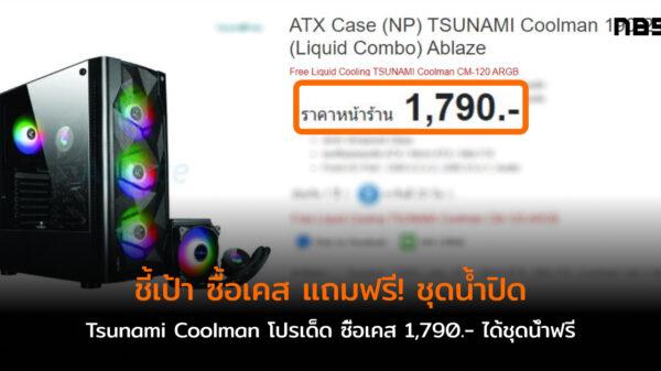 case Tsunami Coolman Free AIO cov