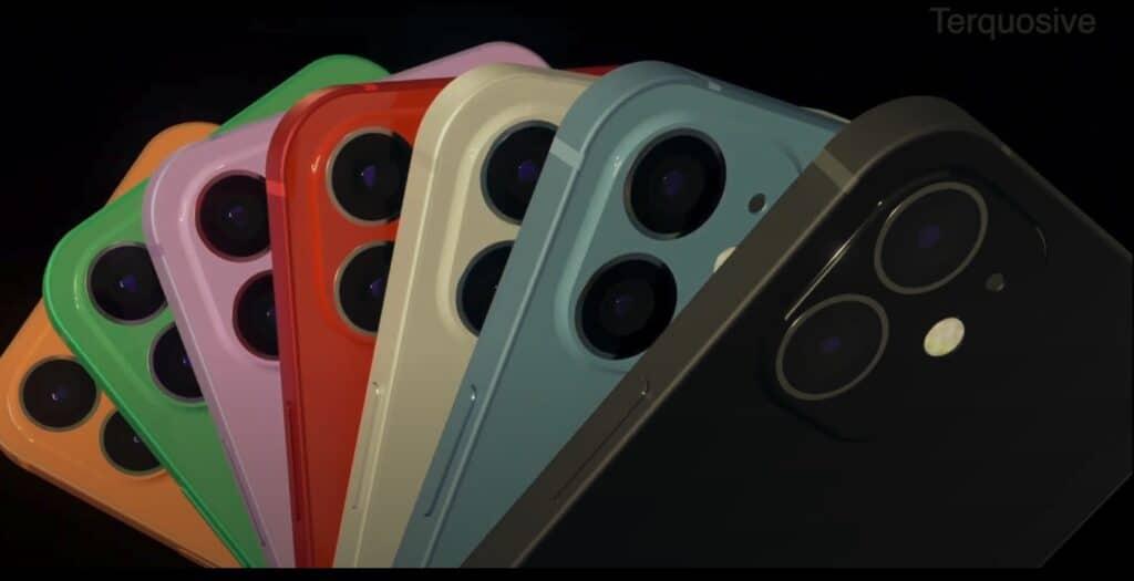 ดีไซน์ iPhone 12
