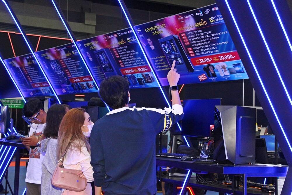"""5.พิธีเปิดมหกรรมสินค้าไอที """"COMMART THAILAND ครั้งที่"""