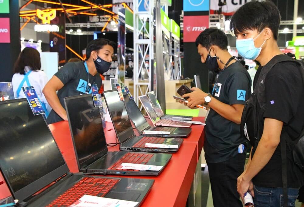 """6.พิธีเปิดมหกรรมสินค้าไอที """"COMMART THAILAND ครั้งที่"""