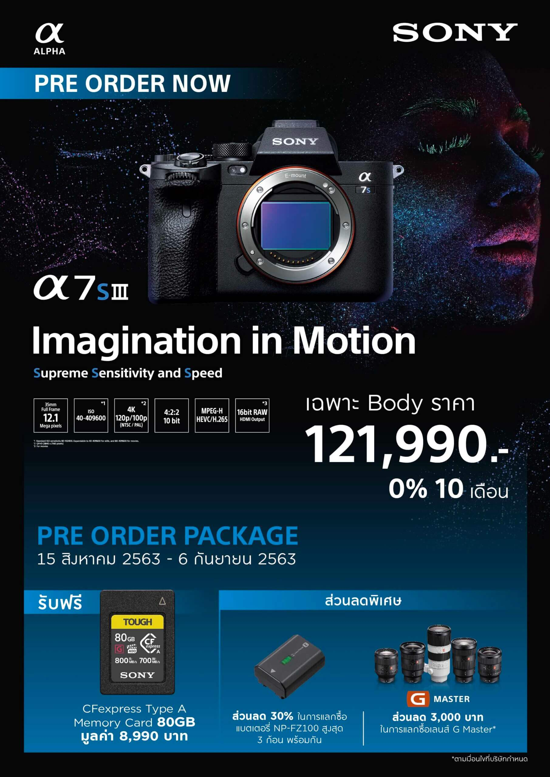 A7SIII Prebooking Nationwide Promotion scaled