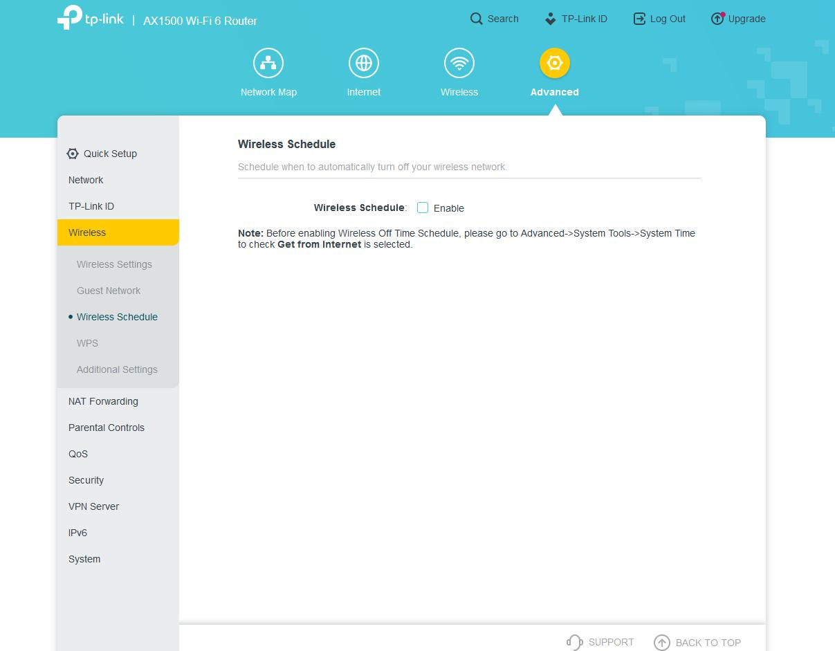AX1500 Wi Fi 6 Router Mozilla Firefox 9 1 2020 3 38 21 PM
