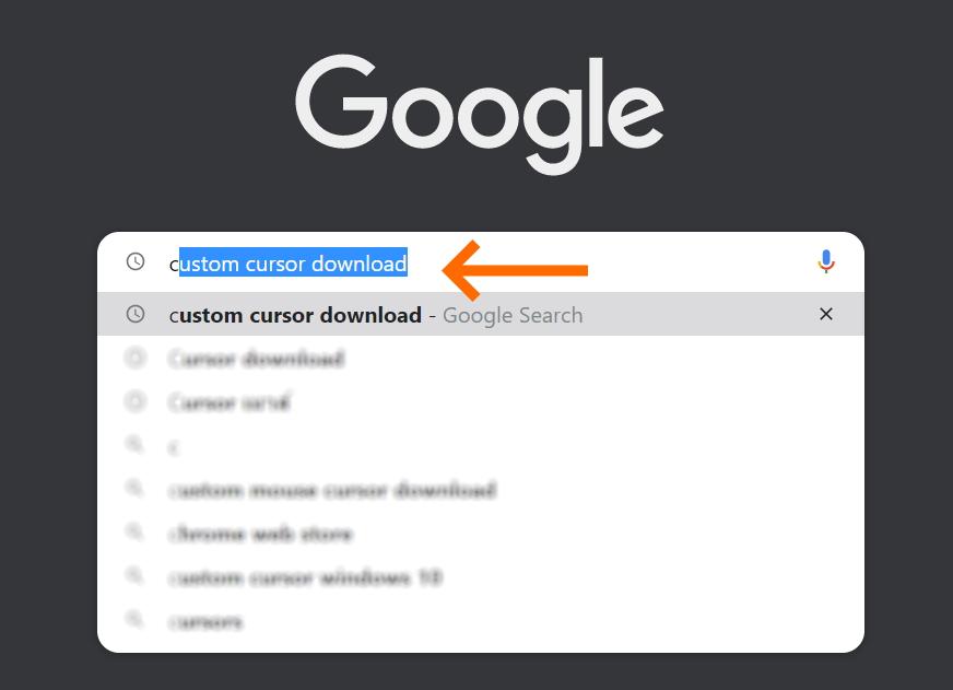 download cursor