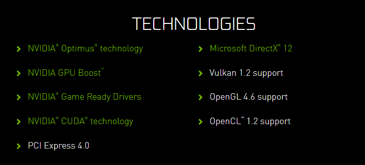 NVIDIA MX450 PCIE4