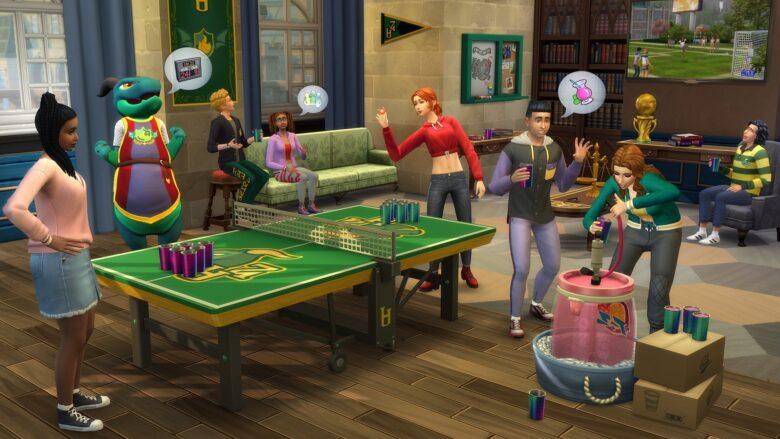 สูตร The Sims 4 มหาลัย