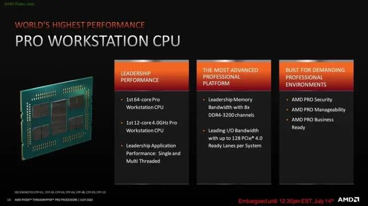 AMD Ryzen Threadripper Pro Workstation CPU Announcement 7 740x416 1