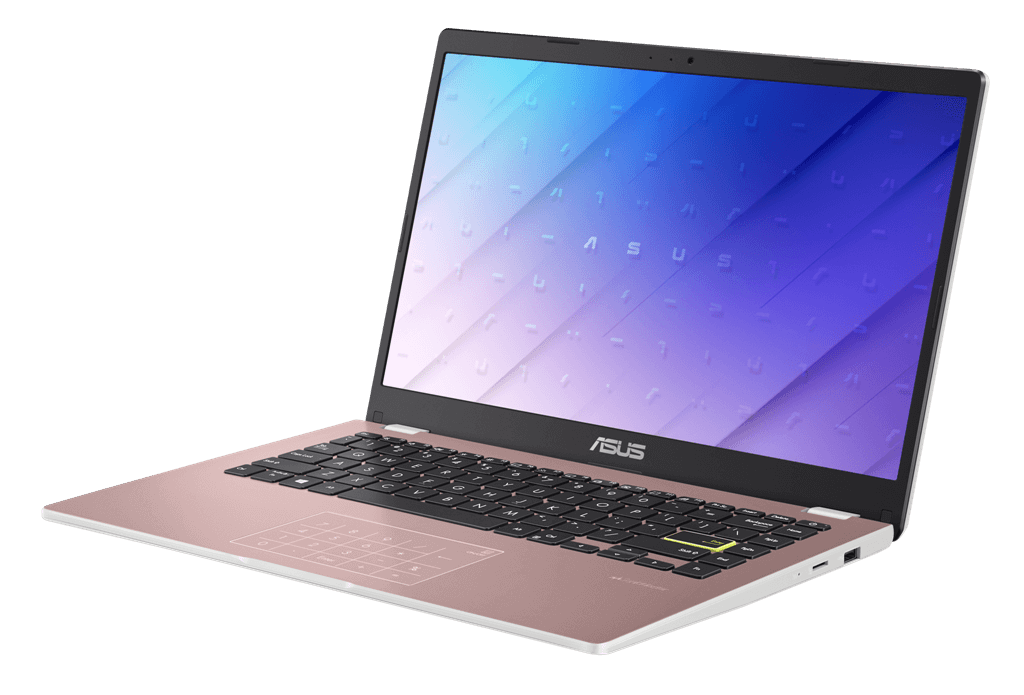 ASUS E210 E410 E510 Every day laptop with up to PCIe SSD storage for students