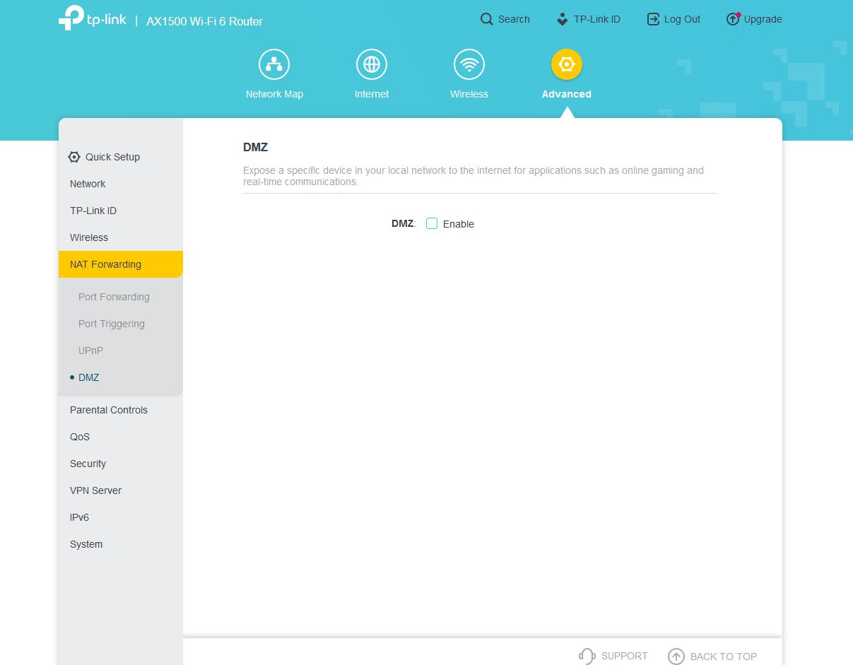 AX1500 Wi Fi 6 Router Mozilla Firefox 9 1 2020 3 38 44 PM