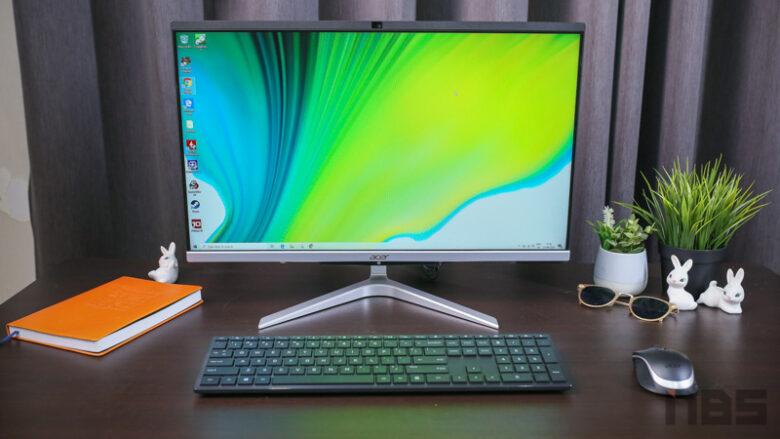 Acer C24 AIO Ryzen Review 9
