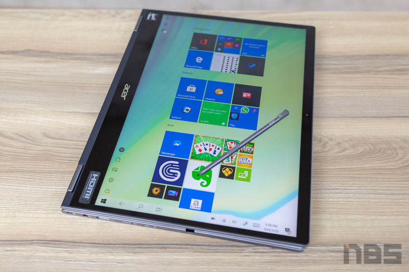 Acer Spin 5 i7 Review 72