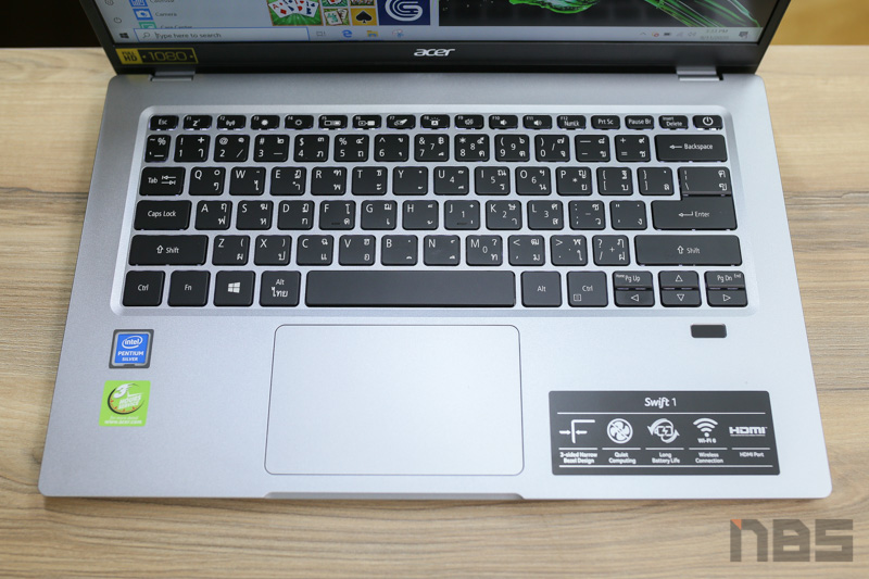 Acer Swift 1 2020 Review 15