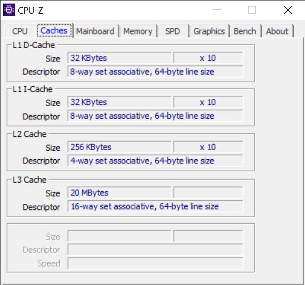 CPU Z 9 8 2020 10 04 48 AM