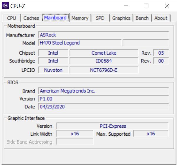 CPU Z 9 8 2020 10 04 50 AM