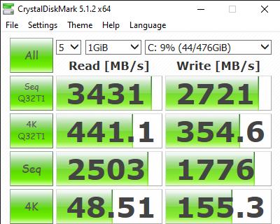 CrystalDiskMark 5.1.2 x64 9 14 2020 2 16 05 AM