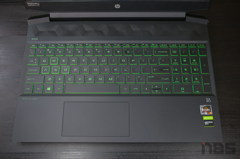 HP Pavilion Gaming 15 R7 4800H GTX1660Ti Review 6