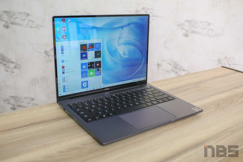 Huawei MateBook 14 Ryzen 4000H Review 3