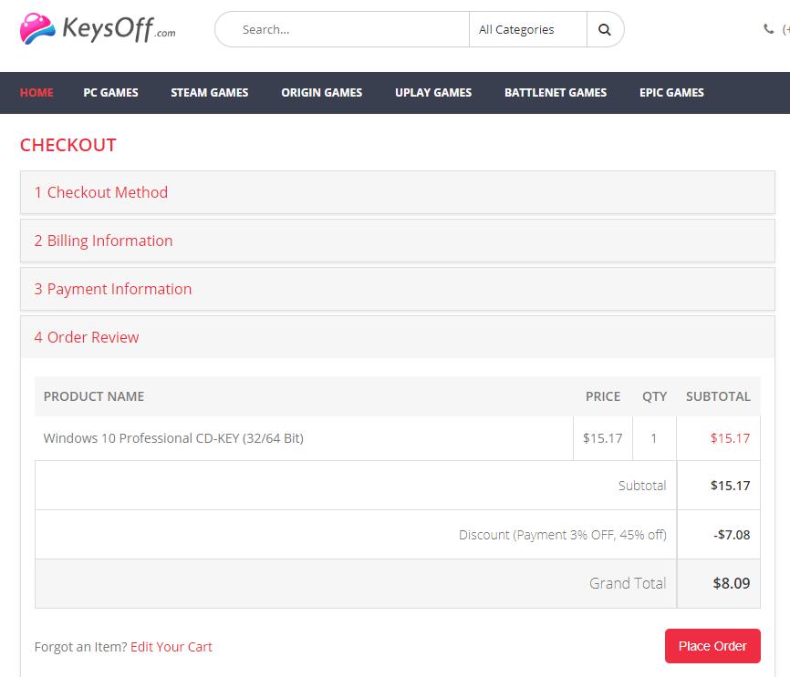 Keysoff 7