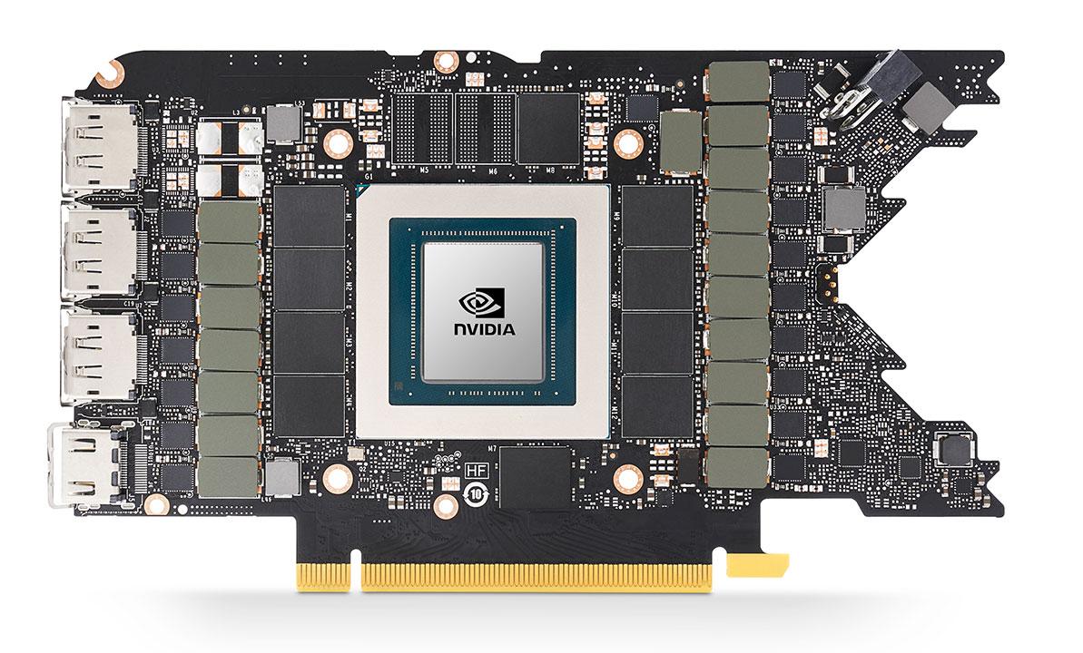 NVIDIA GeForce RTX 3080 PCB
