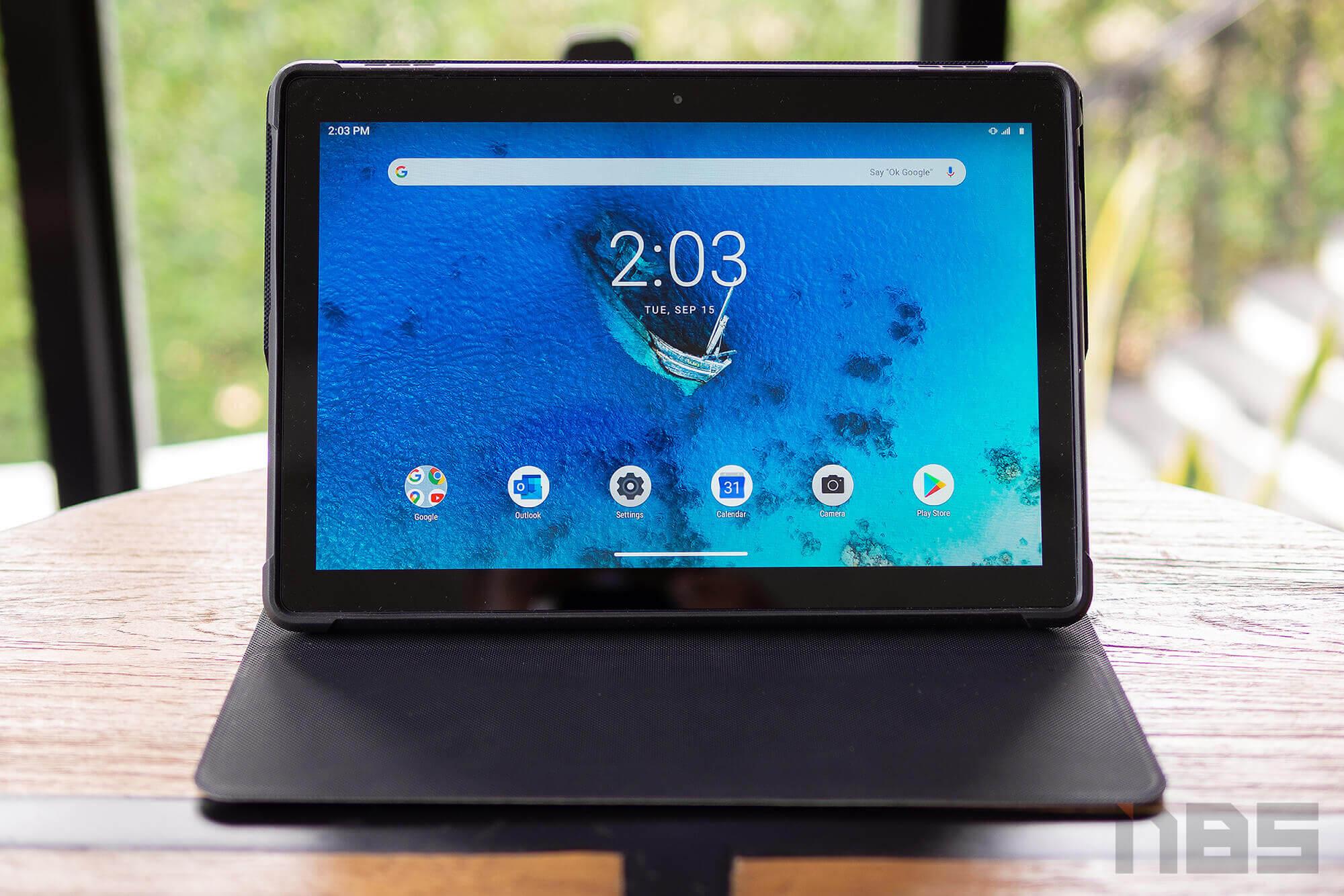 Review Lenovo Tab M10 REL FHD NotebookSPEC 1