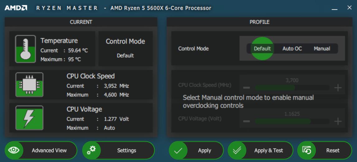 AMD RYZEN MASTER 10 26 2020 12 16 30 AM