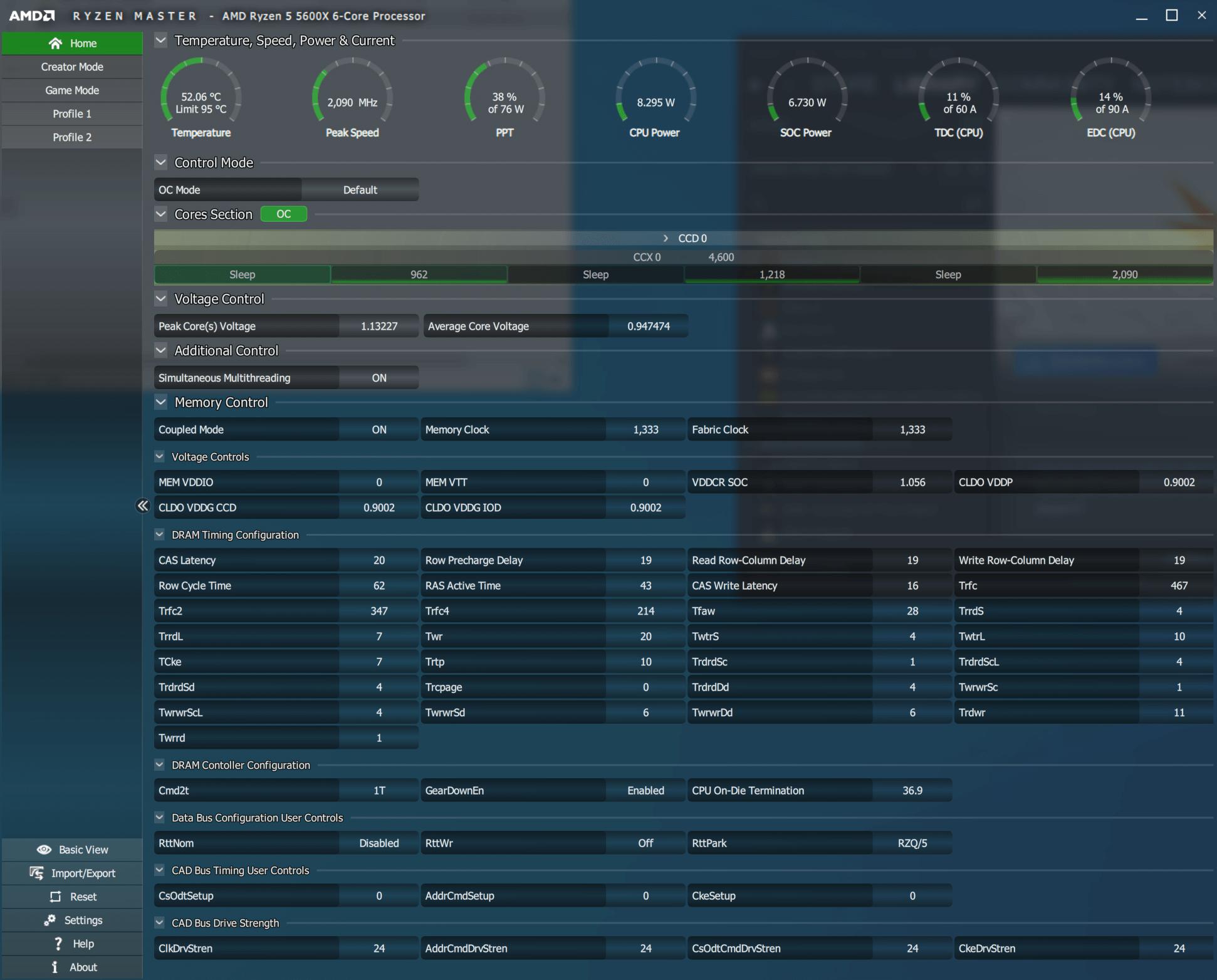 AMD RYZEN MASTER 10 26 2020 12 16 47 AM