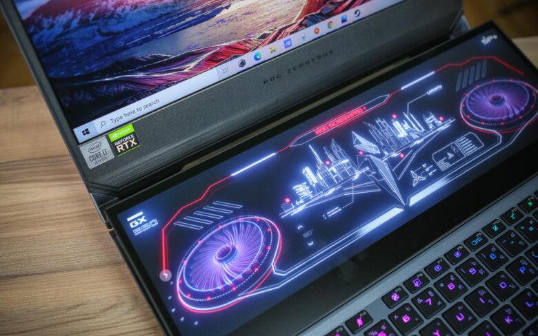 ASUS ROG Zephyrus Duo 15 GX550 Top 1