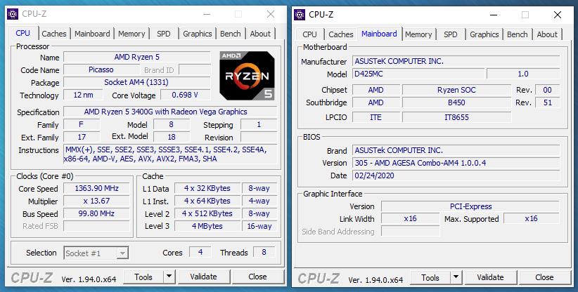 ASUS S425MC bench 7