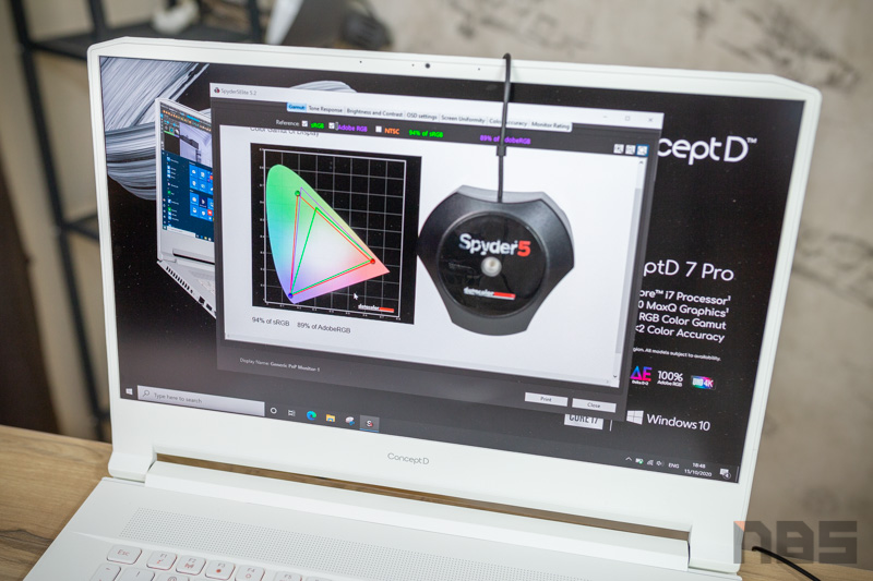 Acer ConceptD 7 Pro i7 RTX 5000 Review 22