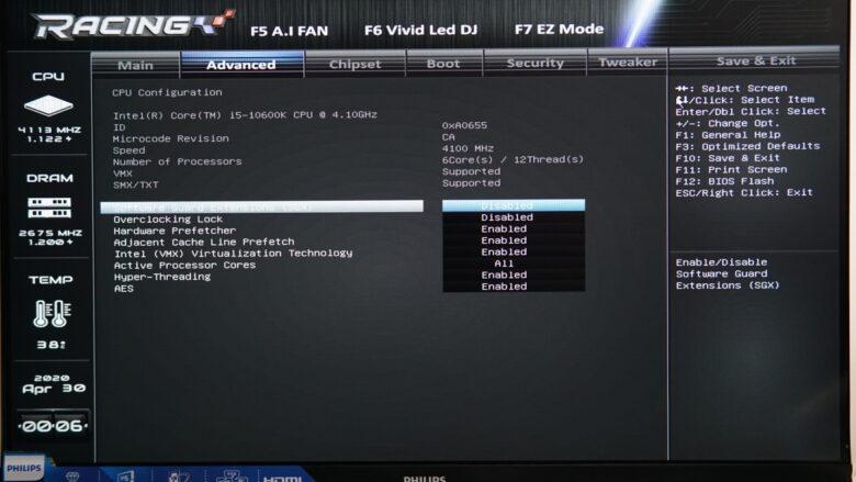 Biostar Z490 GTA EVO MB 16