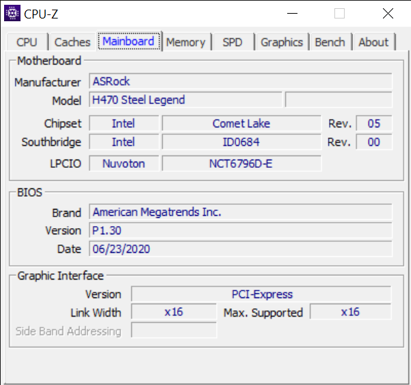 CPU Z 10 15 2020 2 04 11 PM