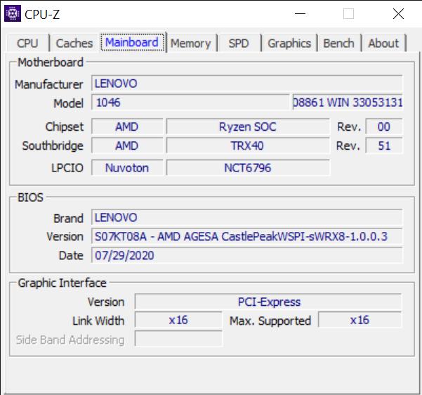 CPU Z 10 16 2020 2 42 15 PM