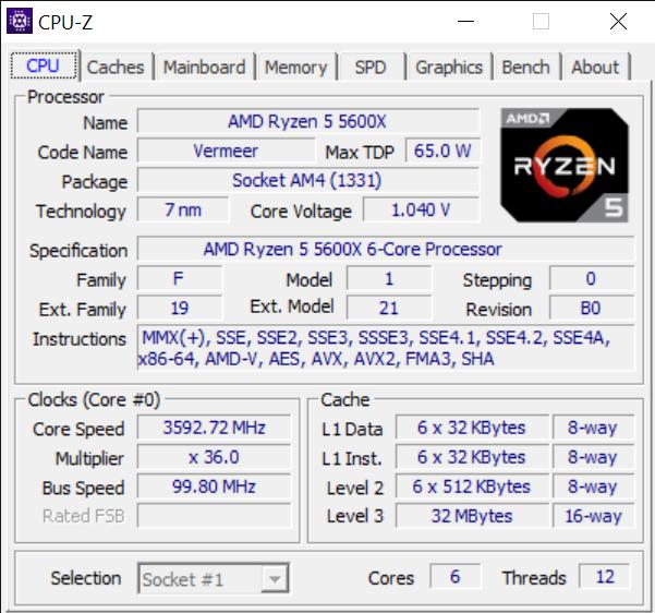 CPU Z 10 26 2020 12 18 59 AM