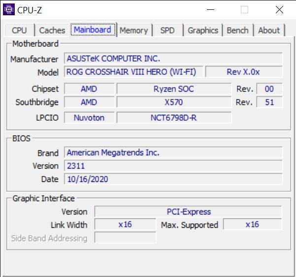 CPU Z 10 26 2020 12 19 04 AM