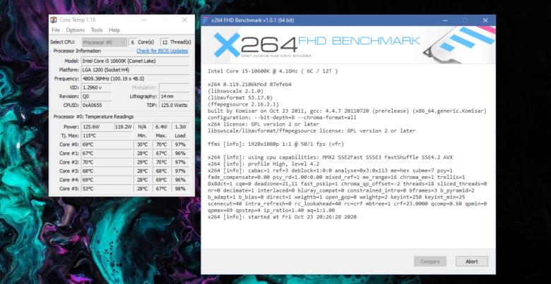 Gamer Storm CASTLE 240RGB v2 test 10