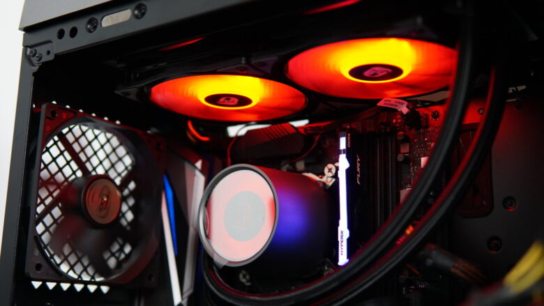 GamerStorm CASTLE 240RGB setup 10