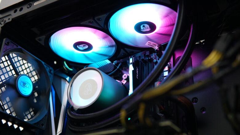 GamerStorm CASTLE 240RGB setup 13