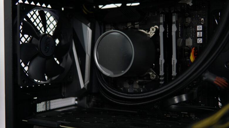 GamerStorm CASTLE 240RGB setup 9