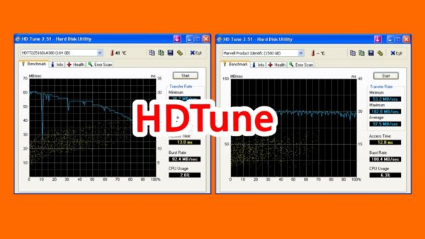 HDTune check HDD 1