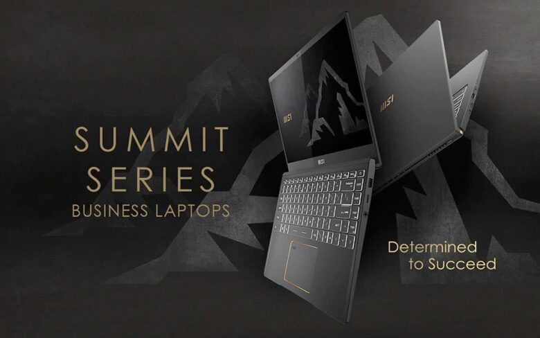 MSI Summit E Series and B Series announced