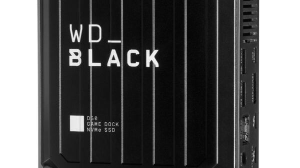 en us WD Black D50 Game Dock SSD Left