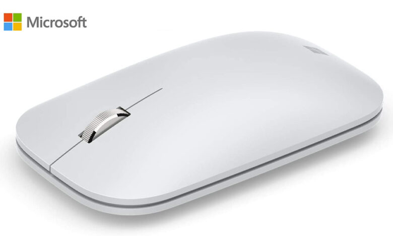 เมาส์ไร้สาย Microsoft Modern Mobile Mouse