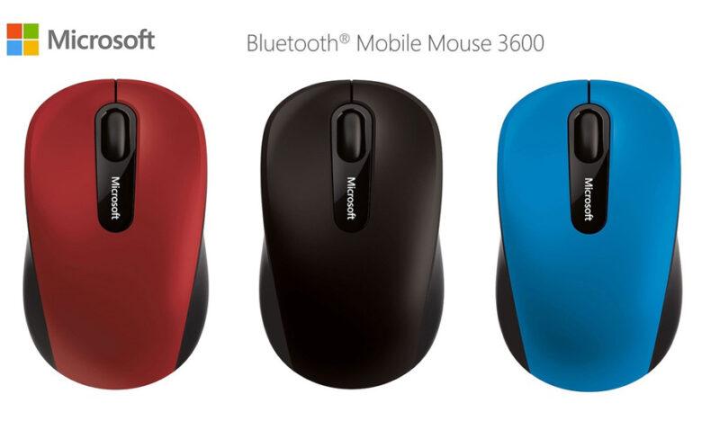 เมาส์ไร้สาย Microsoft Mouse Bluetooth Mobile 3600