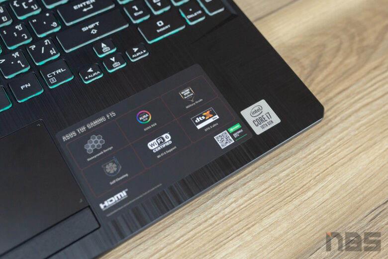 ASUS TUF Gaming F15 FX506 i7 10875H Review 11
