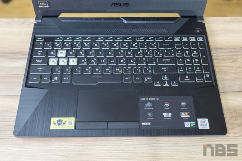 ASUS TUF Gaming F15 FX506 i7 10875H Review 21