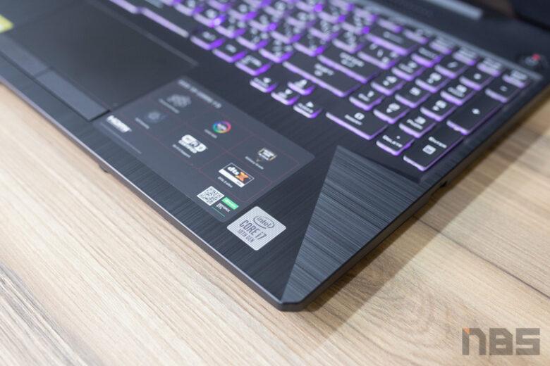 ASUS TUF Gaming F15 FX506 i7 10875H Review 56
