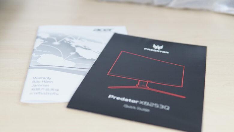 Acer Predator XB253Q 3