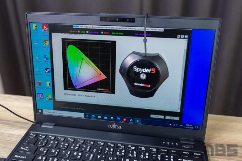 Fujitsu LifeBook UH X Review 69
