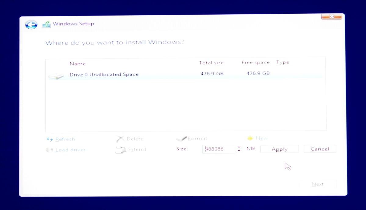 Install Windows 10 11