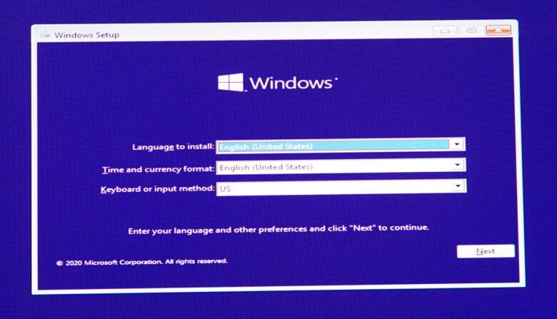 ลง Windows